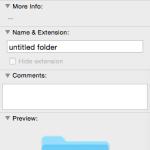 Folder with new icon set