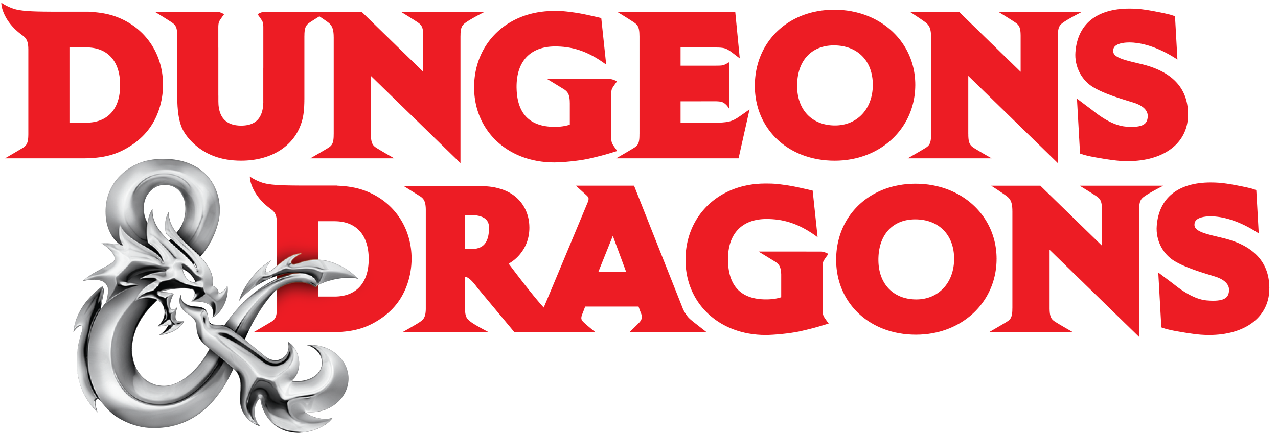 Logo for Dungeons and Dragons